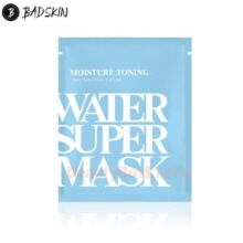 BAD SKIN Moisture Toning Water Super Mask 25ml,Beauty Box Korea
