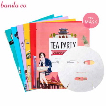 BANILA CO. Tea Party Mask Sheet 27ml 1pcs, Banila Co.