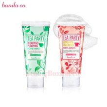 BANILA CO.Tea Party Foam cleanser 120ml