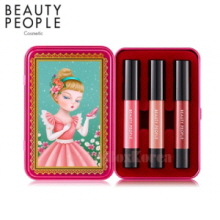 BEATY PEOPLE Honey Girl Dollish Lip Special Make-Up Set 2.4g*3ea