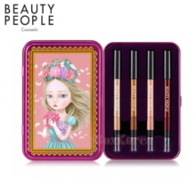 BEATY PEOPLE Radiant Girl Doll Eye Special Make-Up Set 0.3g*4ea