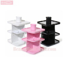 BELAHOME 360 Rotation Cosmetic Storage Shelf 1ea