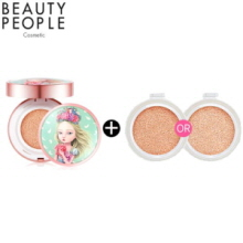 BEAUTY PEOPLE Absolute Radiant Girl Cushion Foundation 18g + Refill 18g,Beauty People