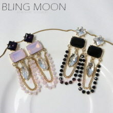 BLING MOON Salvia Earrings 1pair