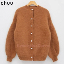 CHUU Lady Pearls Cardigan 1ea