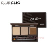CLIO Kill Brow Conte Powder Kit Pressed Powder 2g *2+Fixing wax 1g