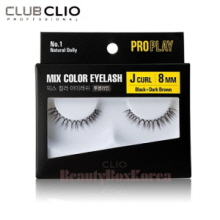 CLIO Pro Play Mix Color Eyelash 1ea (01~06)