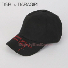 DABAGIRL Lettering Embroidery Cap 1ea