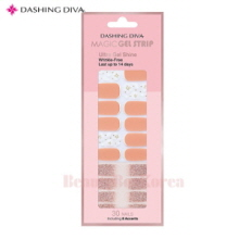DASHING DIVA Magic Gel Strip  DGST 79 Dress Up Peach 1ea