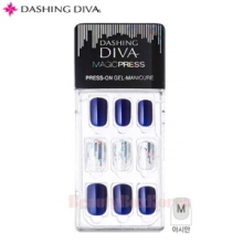 DASHING DIVA Magic Press Hologram Rain 1set