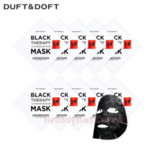 DUFT&DOFT Black Therapy Customized Refining Mask 28ml*10ea