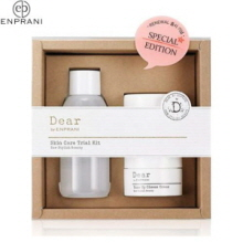 [mini] ENPRANI Dear by Enprani Skincare Trial Set 3items(Moistfull Booskin,Bounce Cheese Cream,Tone-up Cheese Cream), ENPRANI