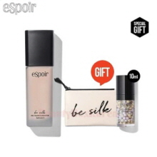 ESPOIR Be Silk Pro Tailor Foundation 30ml with Beige Pouch 1ea [August Limited]