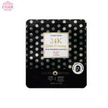 ETUDE HOUSE 24K Gold Therapy Black Pearl Mask 32g