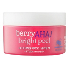 ETUDE HOUSE Berry AHA Bright Peel Sleeping Pack 100ml, ETUDE HOUSE