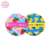 ETUDE HOUSE Lang & Lu Cushion Puff 2ea