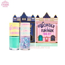 ETUDE HOUSE Nail Kit 8ml*2ea+sticker 1ea [Wonder Fun Park Edition]