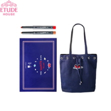 ETUDE HOUSE Play 101 Blending Pencil Sweet Box #5 1.1g + #20 0.9g + Bucket Bag 1ea [Dear My Universe Limited Edition], ETUDE HOUSE