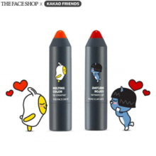 THE FACE SHOP X KAKAO FRIENDS Melting Color Lip Creamer 4g, THE FACE SHOP