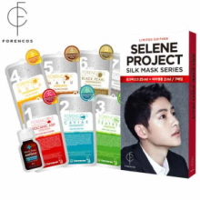 FORENCOS Selene Silk Mask Pack 7 Days Set 25ml*7ea, FORENCOS