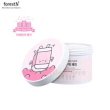 FORESTN Dirty All Clean Heartleaf Houttuynia Eraser Pads 125ml*60ea