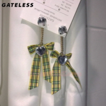 GATELESS Long Ribbon Heart 1pair