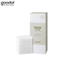 GOODAL Dual Use Cotton Pad 80ea, GOODAL