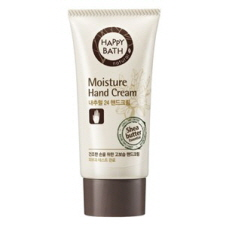 HAPPY BATH Natural 24 Moisture Hand Cream 60ml, HAPPY BATH