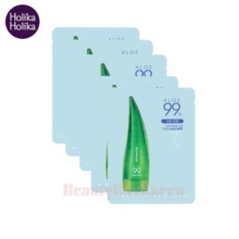 HOLIKA HOLIKA Aloe 99% Soothing Gel Gelee Mask Sheet 23ml*5ea