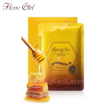 HOPE GIRL Honey Bee Royal Propolis Nutri Sheet Mask 27ml*10ea