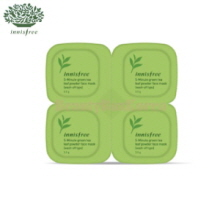 INNISFREE Minute Green Tea Leaf Powder Face Mask 14g (3.5g*4)