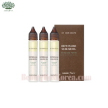 INNISFREE My Hair Recipe Refreshing Scaling Oil (For Oily Scalp) 75ml
