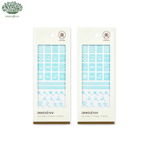 INNISFREE Self Nail Sticker Stencil 1sheet, INNISFREE