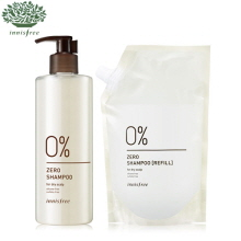 INNISFREE Zero Shampoo Special Set For Dry Scalp 400ml*2, INNISFREE