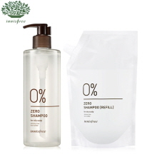 INNISFREE Zero Shampoo Special Set For Oily Scalp 400ml*2, INNISFREE