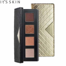 IT'S SKIN It's Top Professional Mono Special Palette 1.8 g*4 / 0.37 g,Beauty Box Korea