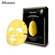 JM SOLUTION Water Luminous Golden Cocoon Mask Black 45g*10ea