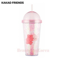 KAKAO FRIENDS Apeach Straw Tumbler 1ea (Light pink)