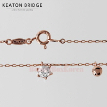 KEATON BRIDGE Hexagon Circle Necklace 1ea
