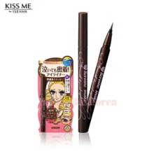 KISS ME Heroin Make Smooth Liquid Eyeliner Superkeep 0.4ml,KISS ME