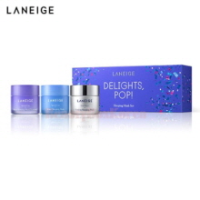 LANEIGE  Holiday Mini Sleeping Mask Set 25ml*3ea [Delights Pop Holiday Edition]