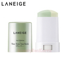 LANEIGE Anti-Pollution Two-Tone Sun Stick SPF50+ PA++++ 18g