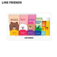 LINE FRIENDS Travel Set 5items