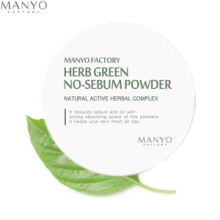 MANYO FACTORY Herb Green No Sebum Powder 6.5g, MANYO FACTORY