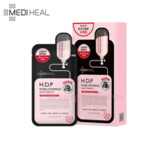 MEDIHEAL H.D.P Pore-Stamping Black Mask EX 25ml*10ea