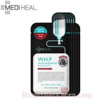 MEDIHEAL W.H.P. White Hydrating Charcoal Mineral Mask 25ml*5ea, MEDIHEAL