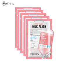 MEDIHEAL Zero Solution Skin Chart Milk Flash Mask 25ml*5ea