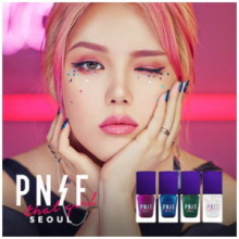 MEMEBOX Pony Effect That Girl Illusion Nail Lacquer 10ml*4ea, MEME BOX