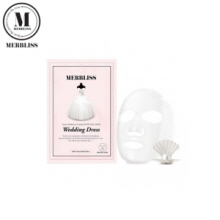 MERBLISS  Wedding Dress Intense Hydration Coating Nude Seal Mask 1 sheet 25g, Own label brand