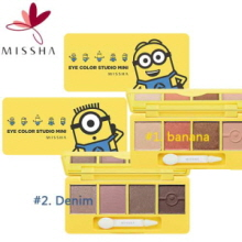 MISSHA (Minions Edition) Eye Color Studio Mini 7.2g, MISSHA